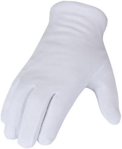 12 pares de guantes de algodón blanco talla 7.: Amazon.es: Bricolaje y herramientas