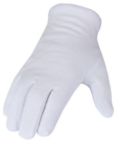 12pares de guantes de algodón blanco talla 7.