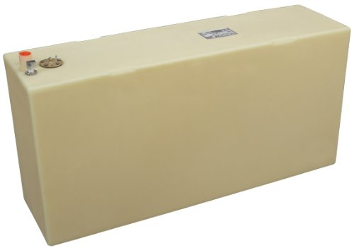 Moeller Marine 032550, Below Deck Permanent Fuel Tank, 50 Gallon - 45.00 in. L x 12.50 in. W x 24.75 in. H