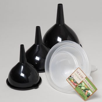 Funnel Set - 3 Piece Case Pack 48 Home Kitchen Furniture Decor