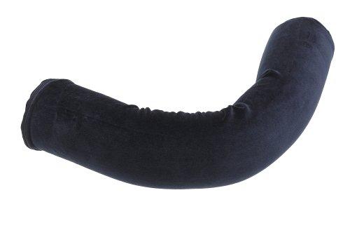 Contour Products Twist Neck Pillow, Navy Blue