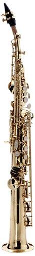 Hawk WD-S413 Straight Soprano Saxophone Gold with Case, M...