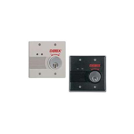 Detex EAX-2500F & EAX-2500S Exit Alarms - Household Alarms And ... on panic hardware with alarm, dsc alarm, napco alarm,