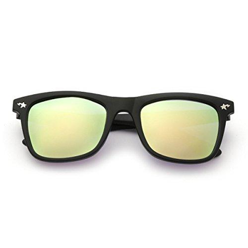 De Gold Moda Sol Gafas Gafas Polarizador Señora De Grandes Gold Gafas Polarized Sol Sol De Camuflaje ww7SY6q