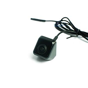 170/° Weitwinkel Farb-R/ückfahrkamera//Frontkamera mit Distanzlinien f/ür Unterbau Schwarz CCD Sensor NTSC