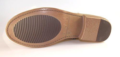 Unbekannt - Botas de cuero de imitación para mujer Gris - gris