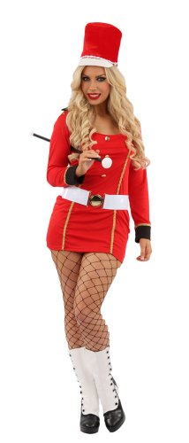 British Queen's Guard Costume (Queens Guard British Royalty Female Fancy Dress Costume - XL (US 16-18))