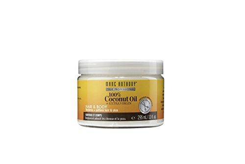 - Marc Anthony 100% Coconut Oil + Extra Virgin Hair & Body, 10 fl oz