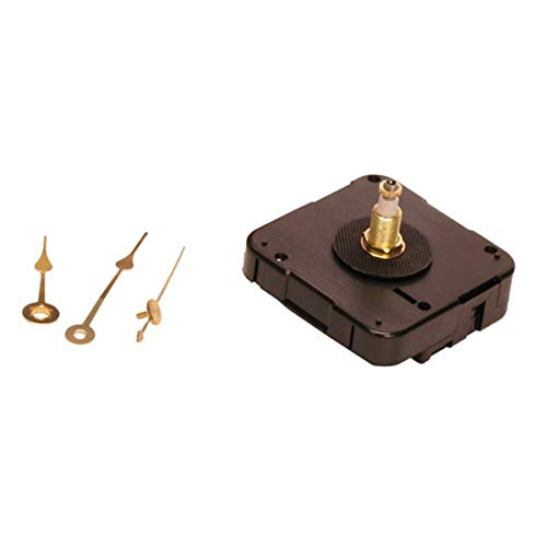 Walnut Hollow Quartz Clock Movement, 3/8-Inch Surfaces