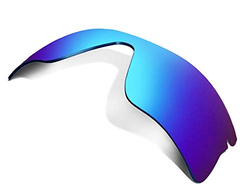 Replacement Lenses Compatible with OAKLEY Radar Range Polarized Ice Blue ()