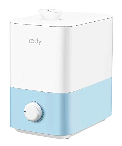 5L Top Fill Ultrasonic Cool-Mist Humidifier for Home Large Room Bedroom or Office, Quiet, Smart, Filterless, Lasts Upto…