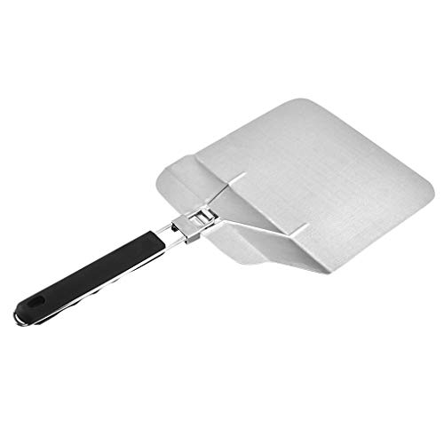 Fengyuanhong Stainless Steel Pizza Peel Spatel met Folding Heat Proof Handle Cake Lifter Shovel Keuken Tool