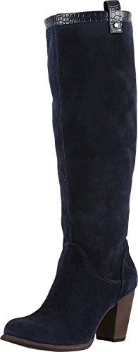 UGG Women's Ava Croco Boot Navy Size 11 B(M) US (Ugg Inspired Boots Women)