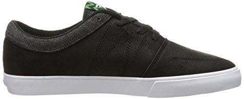Der Skate-Skateboard-Schuh der gefallenen Männer Schwarz Grün