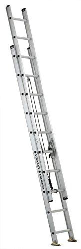Stanley FatMax SXL2120-20 Aluminum Extension Ladder, 20-Foot, 250-Pound Load Capacity