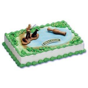 Amazoncom Field and Stream Duck Hunter Cake Kit Childrens Cake
