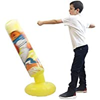 Mapow Children's Inflatable Punching Bag-Premium Exercise Toy for Boys and Girls- Boxing Bag for Kids, Exercising, Self-Defense Training, Sports, Physical Fun