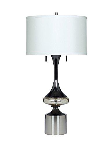 Ashley Furniture Signature Design - Marsha Table Lamp Set - Contemporary - Set of 2 - Gunmetal Finish by Signature Design by Ashley