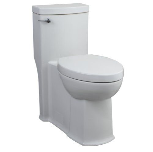 American Standard 2891.016.020 Boulevard One Piece Right Height Elongated Toilet, White by American Standard (Image #1)