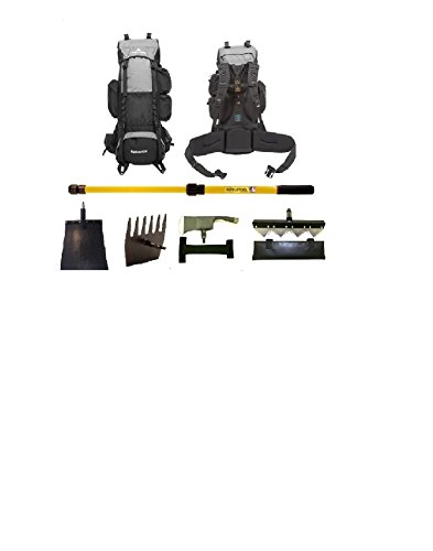 Inteletool Telescopic Wildfire Fighting Tool Kit with Backpack by Inteletool