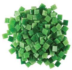 - Jennifer's Mosaics Grassy Greens Mix 3/8-Inch Venetian Style Glass Mosaic Tile, Assorted Colors, 8-Ounce