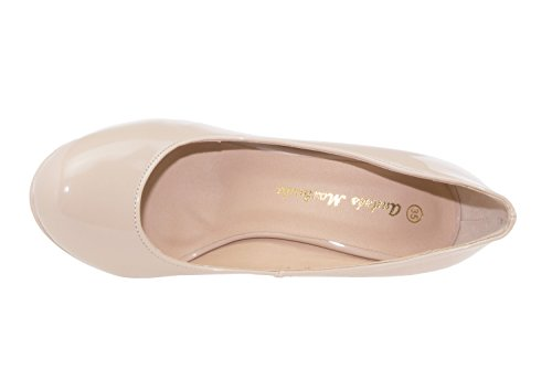 Para Zapatos beige nbsp;a Beige Machado Am453 Eu La Negros 45 Los Todos 32 Tacón Jóvenes Números 33 Andres De Eq6T1ww