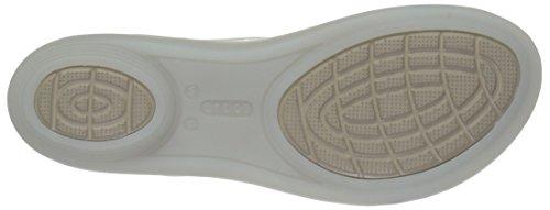 Oyster para W Walnut Mujer Sandal Isabella Crocs Sandalias YWgRFFPq