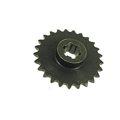 WhatApart 25 Tooth Sprocket (#25) for 33cc, 43cc, 49cc Stand Up-Gas Scooters : Sports & Outdoors