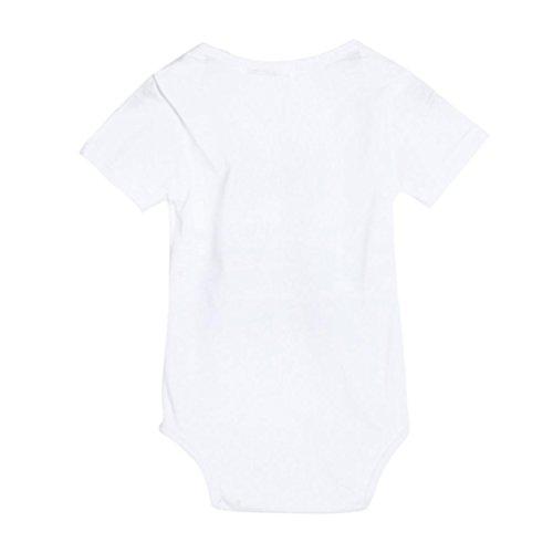 Gotd Newborn Infant Baby Boy Girl Letter Romper Jumpsuit Outfits