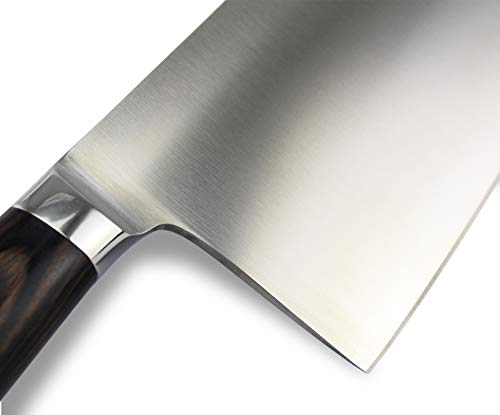 Cleaver Knife,Imarku Chef Knife,7-Inch Chinese Vegetable Kitchen Knife,Stainless-Steel Chopper-Cleaver-Butcher Knife for Home Kitchen or Restaurant by imarku (Image #3)