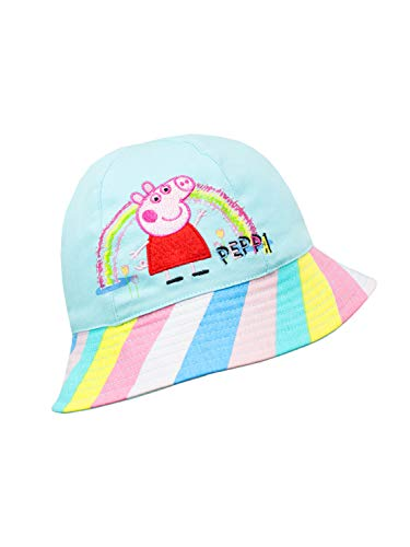 Peppa Pig Little Girls Toddler Sun Bucket Hat, -