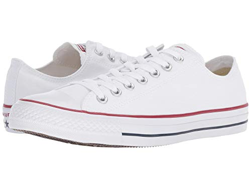 Converse M7652- Chuck Taylor All Star Low Top Optical White Casual Oxfords, 7.5 Women/5.5 Men from Converse