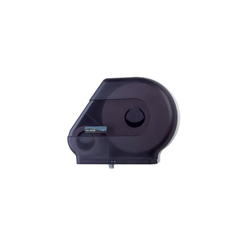San Jamar Quantum Roll Dispenser w/Stub Roll Area, 13-1/2 x 8-1/4 x 14-11/16, Black Pearl - BMC-SAN R6500TBK