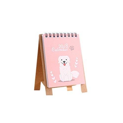 Cute Wallpapers Desktop Halloween (Euone 2018 Cute Cartoon Animal Desk Desktop Calendar Flip Stand Table Office Planner)