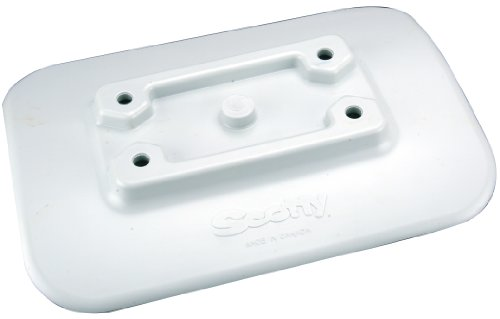 Scotty Glue-on Pad for Inflatable Boats Grey, Outdoor Stuffs