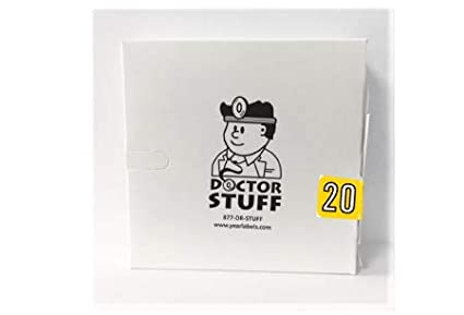Doctor Stuff Ships Same Day//Next Day 2020 File Folder Year Labels 3//4 x 1-1//2 500//Roll Colwell Jewel Tone Compatible Series 1 Roll Yellow
