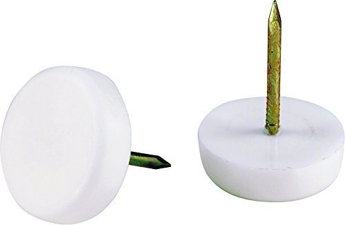 Shepherd Hardware 9143 5/8-Inch Furniture Tack Glides, 4-Pack