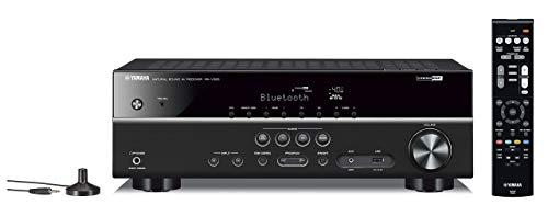 Yamaha RX-V383BL 5.1-Channel 4K Ultra HD AV Receiver with Bluetooth (Renewed)