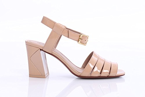 Pink Tory Mujer Burch In Leather Sandal Light Patent qEZaCnwgE