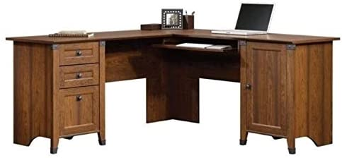 BOWERY HILL L-Shaped Home Office Computer Desk