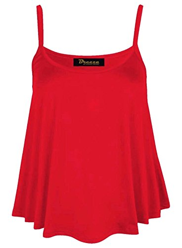 bullring fashion - Canotta -  donna rosso S/M