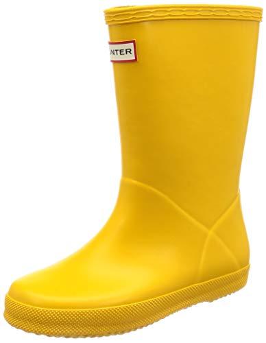 UK 12 Yellow 13 Little Kid M Toddler//Little Kid Hunter Kids Original Kids First Classic Rain Boot