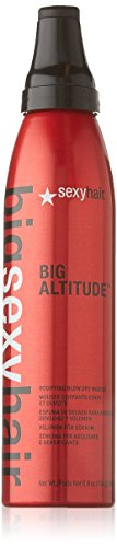 Sexy Hair Big Altitude Bodifying Blow Dry Mousse, 6.8 Ounce