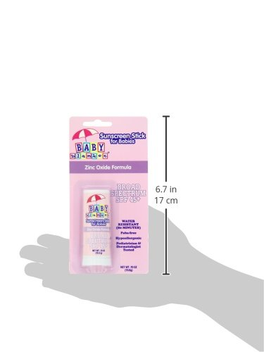 Baby Blanket Sunscreen Stick, SPF 45, 0 7 Ounce Stick