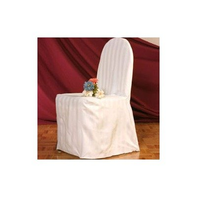 Amazon Com Round Back Hotel Banquet Chair Cover Color White