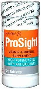 Prosight Tablet, High Potency with Zinc, 120 CT Review