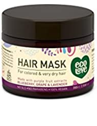100% Vegan hair mask by ecoLove Organic blueberry, grape...