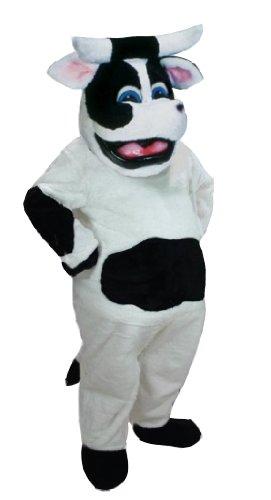 Bessie the Cow Mascot Costume ()