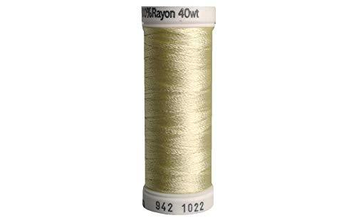 (Sulky Rayon Thread for Sewing, 250-Yard, Cream)