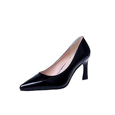 Femme Polyuréthane Marche Talons Black Formelles Habillé Formellestalon Automne Décontracté Chaussures ggx Confort Lvyuan À qwURRC